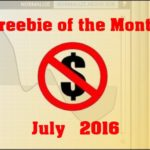 Freebie of the Month – July 2016