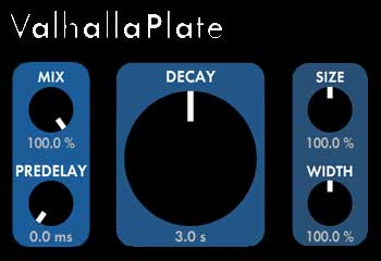 SoundBytes review – Valhalla Plate from ValhallaDSP