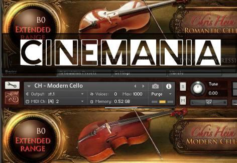 Cinemania - Chris Hein Solo Cello through Best Service